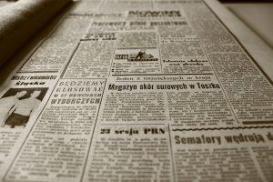 Składające gazety – zabawa integracyjna